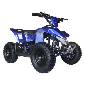 MotoTec kids electric ATV Mini Quad V3 MT-ATV3_Blue