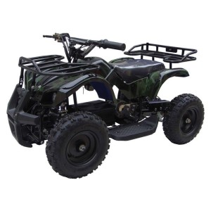 MotoTec 24v Mini Quad V4 Camo Green MT-ATV4_Camo