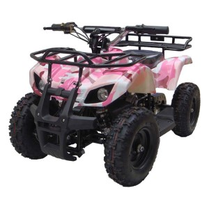 MotoTec 24v Mini Quad V4 MT-ATV4_Pink