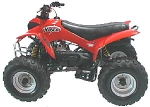 Kasea Skyhawk 50 Four Wheeler ATV