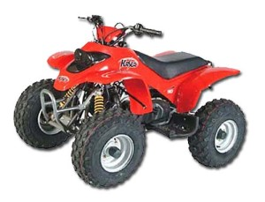 Kasea Skyhawk 90 Four Wheeler ATV