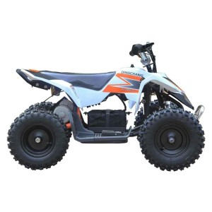 MotoTec V3 24v Mini Quad ATV MT-ATV3_White side