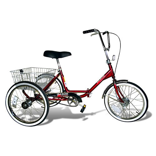 Trifecta Single-Speed Adult Folding Tricycle