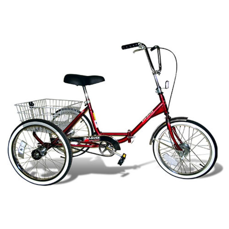 Trifecta Single Sd Folding Tricycle Tricycles Urbanscooters Com