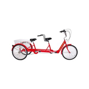 "Belize Tri Rider Twin 6-Speed 24"" TANDEM Adult Tricycle"