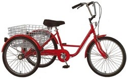 Belize Tri Rider 3-Speed 24 Inch Adult Tricycle
