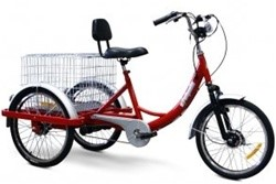E-Wheels Electric Adult Tricycle