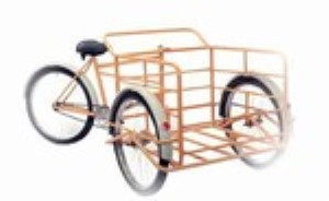 Husky 26 Industrial Front Loading Cage Magnum Tricycle