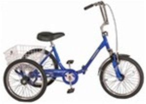 Kent Westport Adult Folding Suspension Tricycle