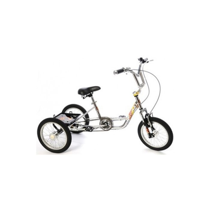 "Mission BMX Trike MX 16"" wheel Teen/Adult Tricycle with Suspens"