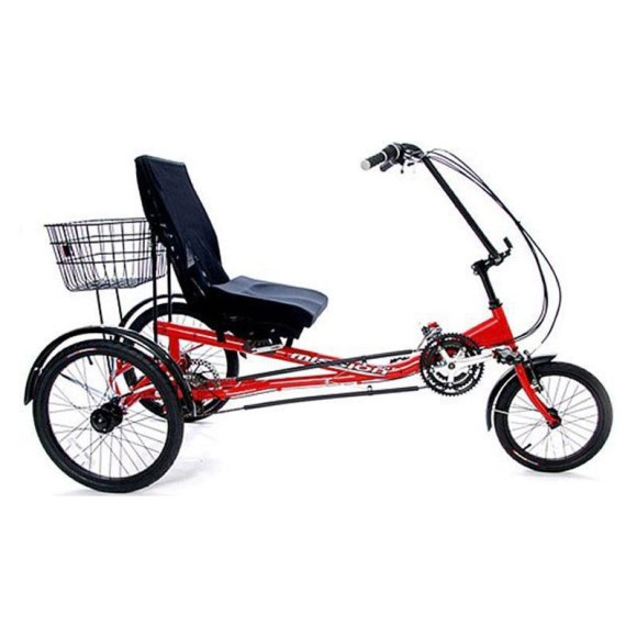 Mission HP1000 Semi Recumbent 21 Speed Adult Tricycle