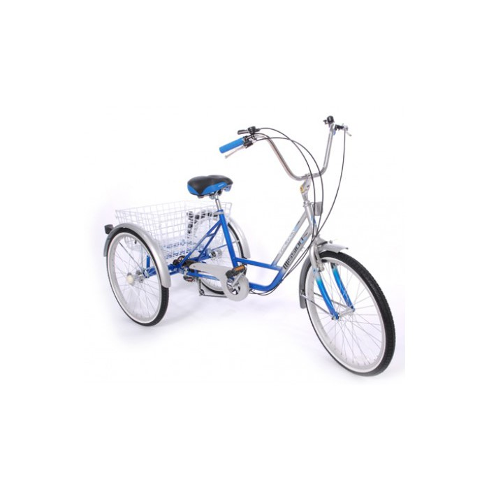 "Mission Trilogy 24"" 6 Speed Adjustable Adult Tricycle"