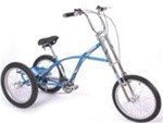 "Mission Triad Chopper 5 Speed Adult 20"" Tricycle"