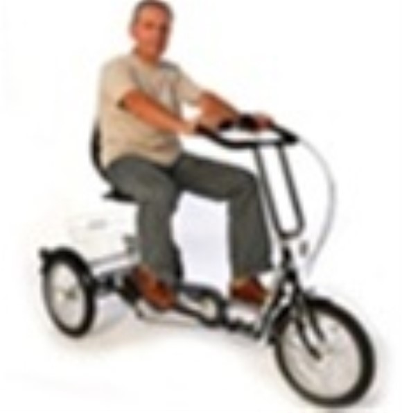 Mission Folding Trilux Recumbent Folding Tricycle