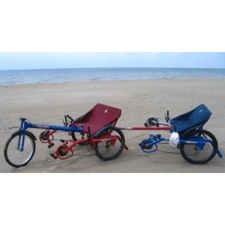 Ricksycle Tricycle - Quad Package - With Disc Brakes