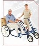 "Trailmate JoyRider 24"" Double Tricycle"