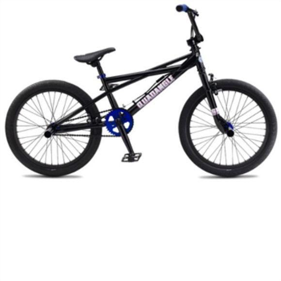 SE Bikes Quadangle 2011 Complete BMX Bike - 19.5 Inch - Black