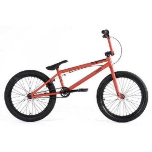 United Supreme SU1 2011 Complete BMX Bike - Flat Red