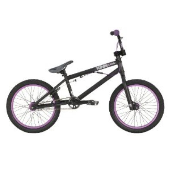 Kink BMX 2011 18-Inch Kicker Bike (Black