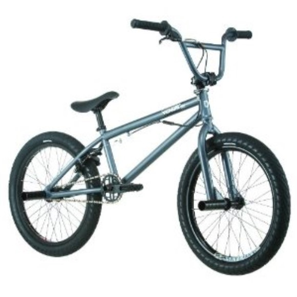 Diamondback Venom Pro BMX Bike, Dark Silver, 20-Inch Wheels