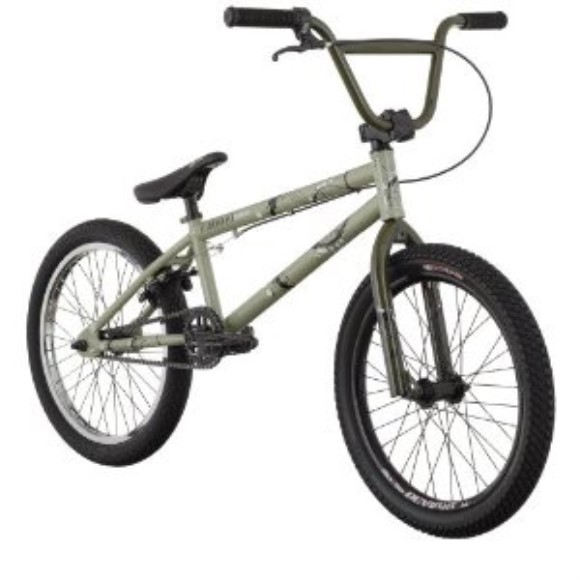 Diamondback Accomplice BMX Bike (20-Inch Wheels), Cream Green, 2