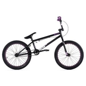 United Recruit RN1 2011 Complete BMX Bike - Flat Black / Purple