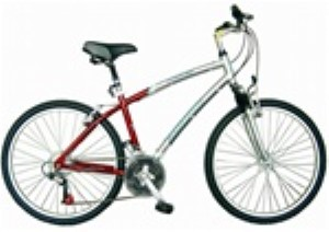 "Firmstrong 26"" Comfort Men's 21 Speed Aluminum Bicycle"