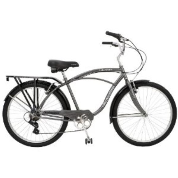 "Schwinn Lakeshore Men's Cruiser Bike (26"" Wheels)"