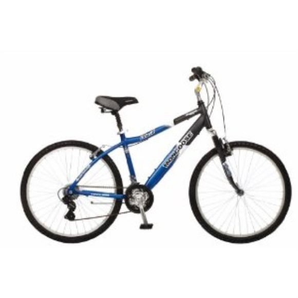 Mongoose Placid Men's Comfort Bike (26-Inch Wheels)