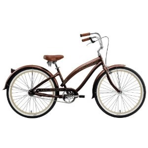"Ladies Nirve 1-Speed Cruiser - Rio -Metallic Coffee (26"")"