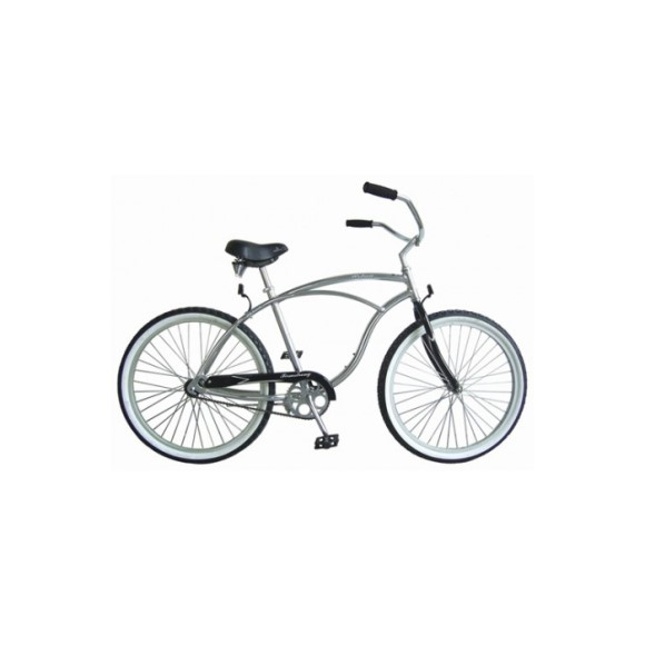"Firmstrong 26"" Urban Alloy Mens Single Speed Cruiser Bicycle"