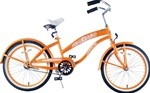 "GreenLine Bicycles 20"" Girl's Single Speed Deluxe Beach Cruiser"