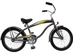 "GreenLine Bicycles 20"" Boy's Deluxe Single Speed Beach Cruiser"