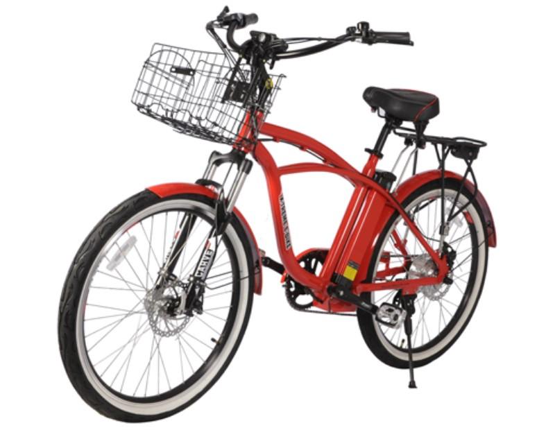 X Treme Kona Electric Beach Cruiser Bikes Urbanscooters