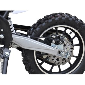 MotoTec 24v Electric Dirt Bike 500w rear wheel
