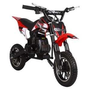 MotoTec 49cc GB Dirt Bike MT-DB-GB_Red