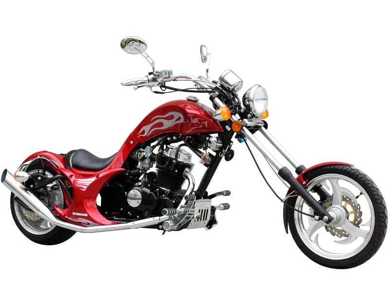 New Dream Chopper Motorcycle