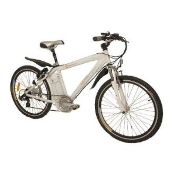 "Urban Mover 36X 17"" Electric Bicycle White 24 Volt"