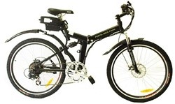 Belize Tri Rider Porta-Bike Punta 6 Speed Electric Folding Bike