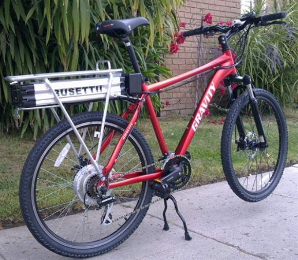 Busetti StepThru Big 50 Mile 1400 Watt 6 Speed Electric Bicycle
