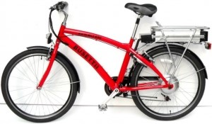 Busettii Big 50 Mile 1400 Watt 18 Speed Electric Folding Bicycle