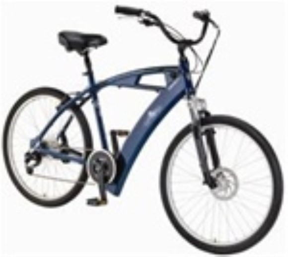 IZIP Urban Cruiser Enlightened Suspension Electric Bicycle