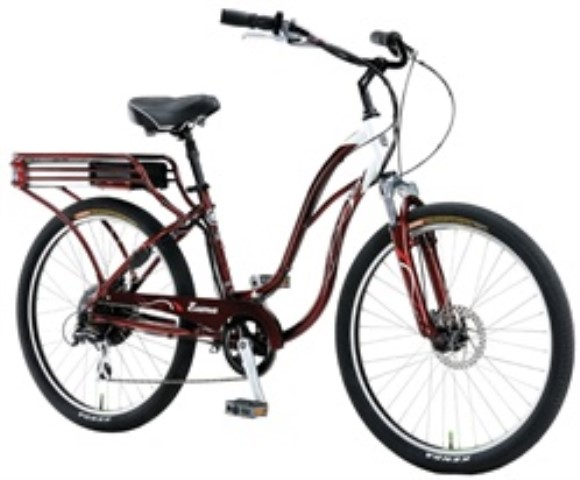 IZIP Zuma Ladies Cantilever Frame Low Step Cruiser Electric Bicy