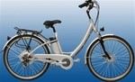 WENTZ Haley's Comet Electric Step Through 7-Speed Bicycle