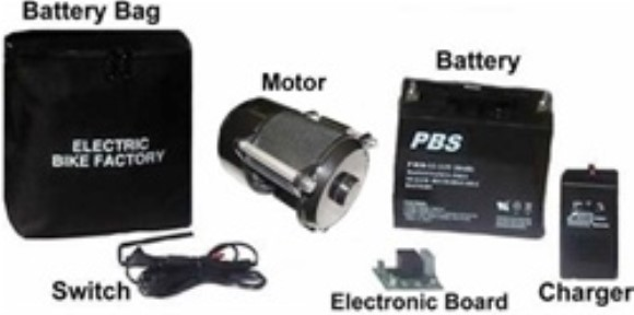 True Bicycle's Electric Bike - Electric Tricycle Motor Kit (20 A