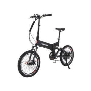 X-Treme E-Rider Folding Electric Bike black
