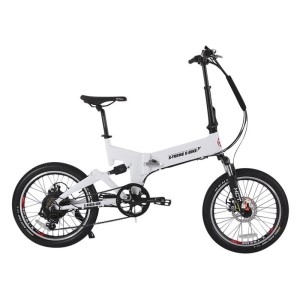 X-Treme E-Rider Folding Electric Bicycle