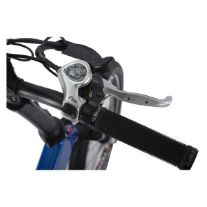 X-Treme E-Rider 48v Mini Folding Electric Bicycle handlebars