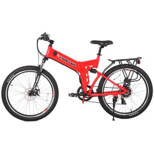 X-Treme X-Cursion Elite 24V Folding Electric Mountain Bike side
