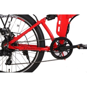 X-Treme X-Cursion Elite drivetrain